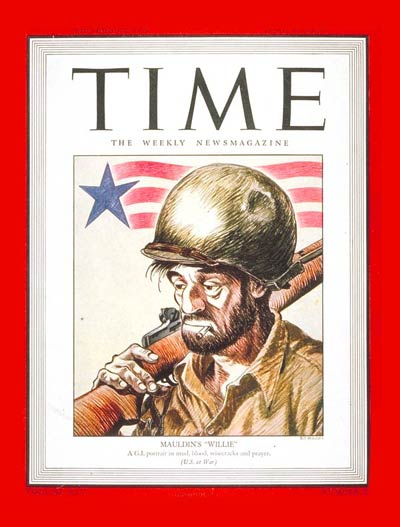 Willie, a World War II combat infantryman created by cartoonist Bill Mauldin