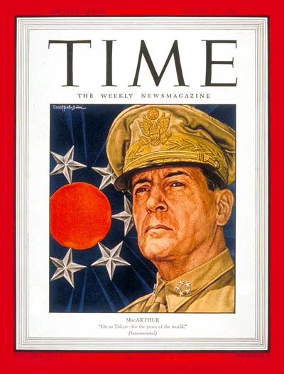 TIME Magazine Cover: General Douglas MacArthur -- Aug. 27, 1945
