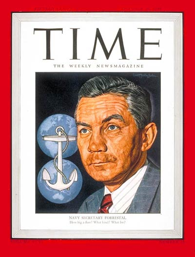 Secretary  the Navy James V. Forrestal.