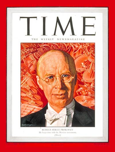 TIME Magazine Cover: Sergei Prokofiev -- Nov. 19, 1945