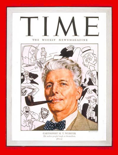 TIME Magazine Cover: H.T. Webster -- Nov. 26, 1945