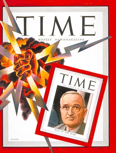 TIME Magazine Cover: Harry S. Truman, Man of the Year -- Dec. 31, 1945