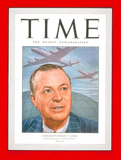 Lockheed boss Robert E. Gross