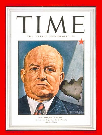 TIME Magazine Cover: Stanislaw Mikolajczyk -- Feb. 11, 1946