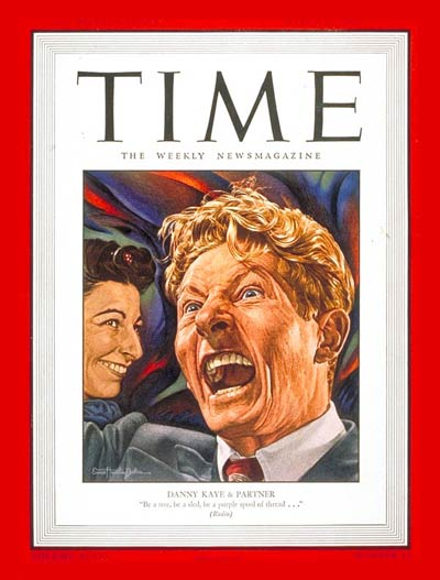 TIME Magazine Cover: Danny Kaye -- Mar. 11, 1946