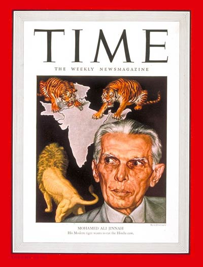 TIME Magazine Cover: Mohamed Ali Jinnah -- Apr. 22, 1946