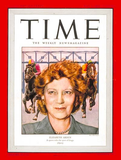 TIME Magazine Cover: Elizabeth Arden -- May 6, 1946