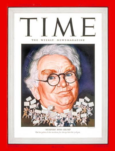TIME Magazine Cover: Edward H. Crump -- May 27, 1946