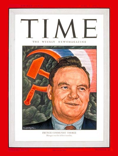 TIME Magazine Cover: Maurice Thorez -- June 3, 1946