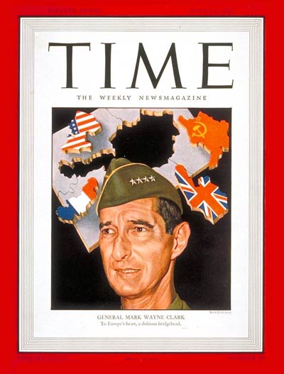 TIME Magazine Cover: General Mark W. Clark -- June 24, 1946