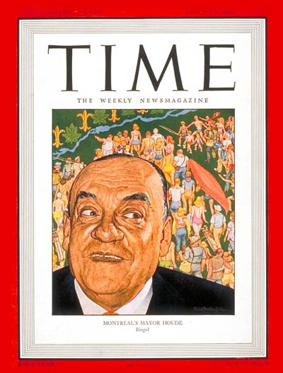 TIME Magazine Cover: Camillien Houde -- Aug. 5, 1946