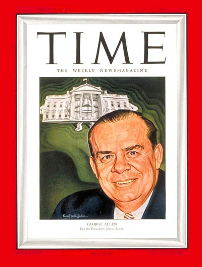 TIME Magazine Cover: George E. Allen -- Aug. 12, 1946