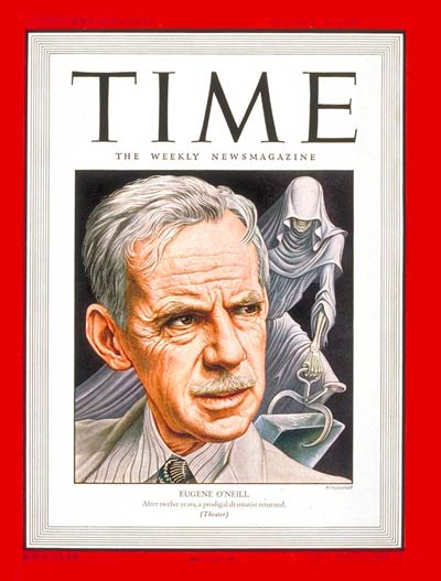 TIME Magazine Cover: Eugene O'Neill -- Oct. 21, 1946
