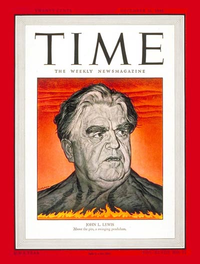 TIME Magazine Cover: John L. Lewis -- Dec. 16, 1946
