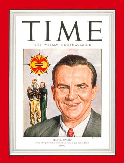 TIME Magazine Cover: Milton Caniff -- Jan. 13, 1947