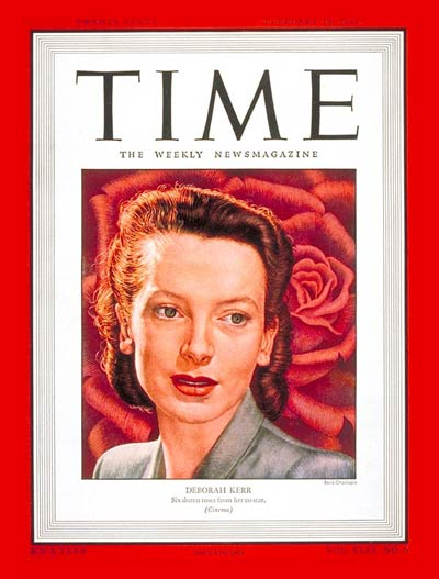 TIME Magazine Cover: Deborah Kerr -- Feb. 10, 1947
