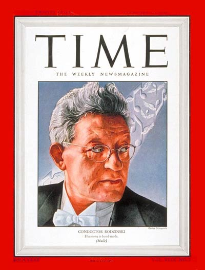 TIME Magazine Cover: Artur Rodzinski -- Feb. 17, 1947