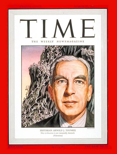 TIME Magazine Cover: Arnold J. Toynbee -- Mar. 17, 1947
