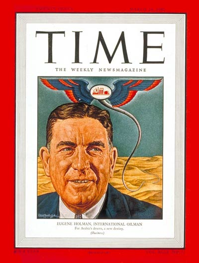 TIME Magazine Cover: Eugene Holman -- Mar. 24, 1947