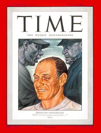 Baseball manager Leo Durocher