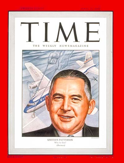 United Air Lines, Inc.  boss William Allan Patterson