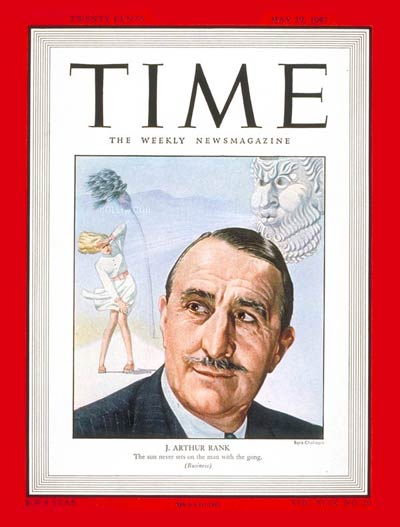 TIME Magazine Cover: J. Arthur Rank -- May 19, 1947
