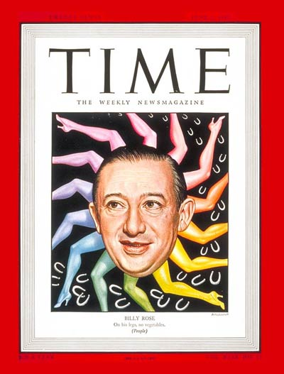 TIME Magazine Cover: Billy Rose -- June 2, 1947