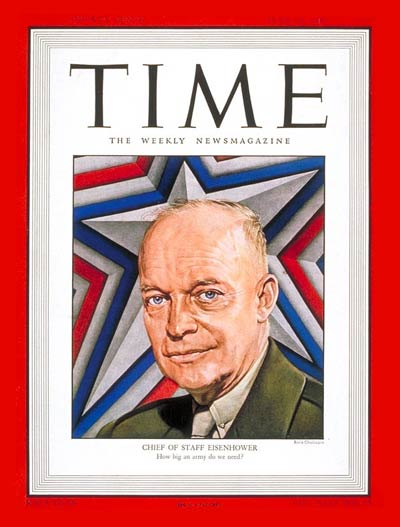 TIME Magazine Cover: General Dwight Eisenhower -- June 23, 1947