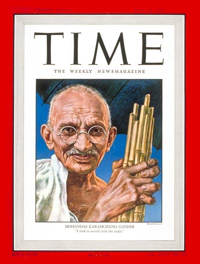TIME Magazine Cover: Mohandas Gandhi -- June 30, 1947