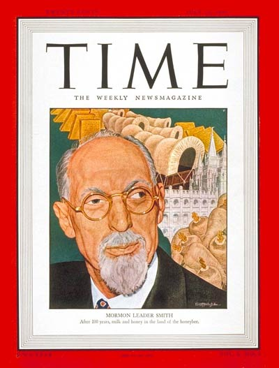 TIME Magazine Cover: George A. Smith -- July 21, 1947