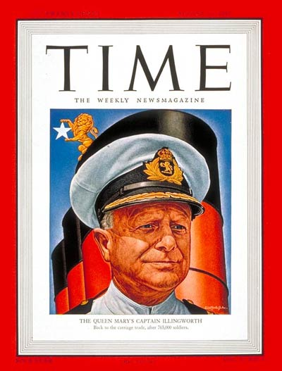 TIME Magazine Cover: Captain Illingworth -- Aug. 11, 1947