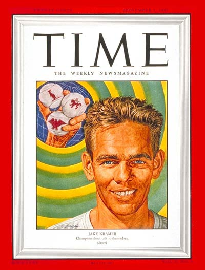 TIME Magazine Cover: Jake Kramer -- Sep. 1, 1947