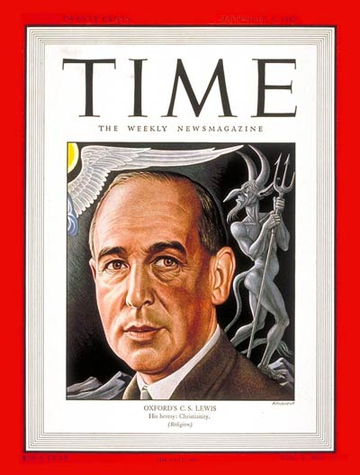 TIME Magazine Cover: C.S. Lewis -- Sep. 8, 1947