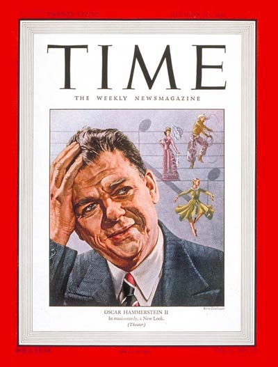 TIME Magazine Cover: Oscar Hammerstein II -- Oct. 20, 1947