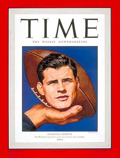 TIME Magazine Cover: Robert A. Chappuis -- Nov. 3, 1947