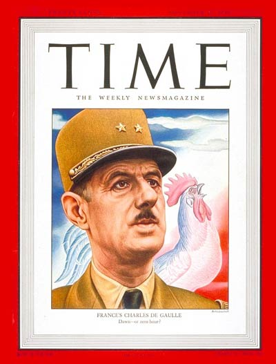 TIME Magazine Cover: Charles DeGaulle -- Nov. 17, 1947