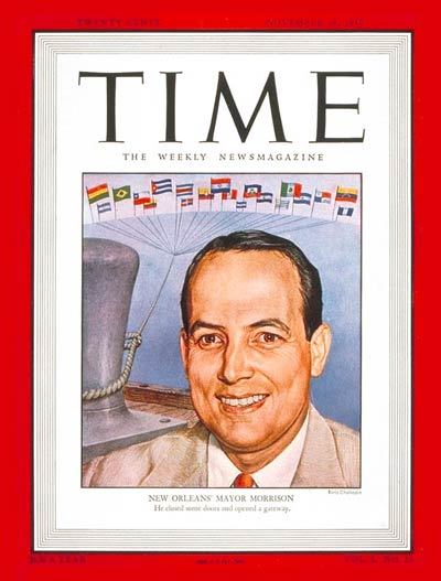 TIME Magazine Cover: deLesseps S. Morrison -- Nov. 24, 1947