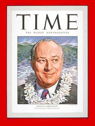 TIME Magazine Cover: Joseph Farrington -- Dec. 22, 1947