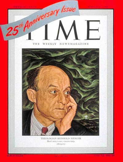 TIME Magazine Cover: Reinhold Niebuhr -- Mar. 8, 1948