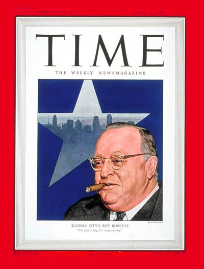 TIME Magazine Cover: Roy A. Roberts -- Apr. 12, 1948
