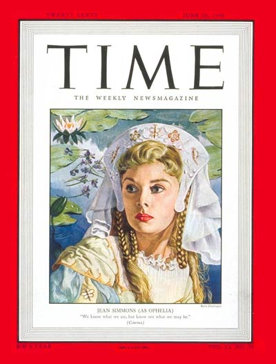 TIME Magazine Cover: Jean Simmons -- June 28, 1948