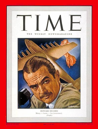TIME Magazine Cover: Howard Hughes -- July 19, 1948