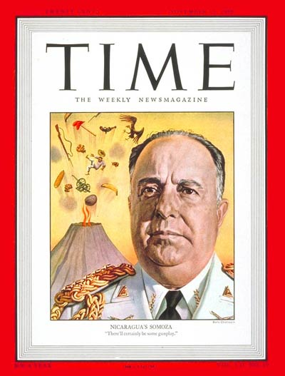 TIME Magazine Cover: Anastasio Somoza -- Nov. 15, 1948