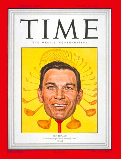 TIME Magazine Cover: Ben Hogan -- Jan. 10, 1949
