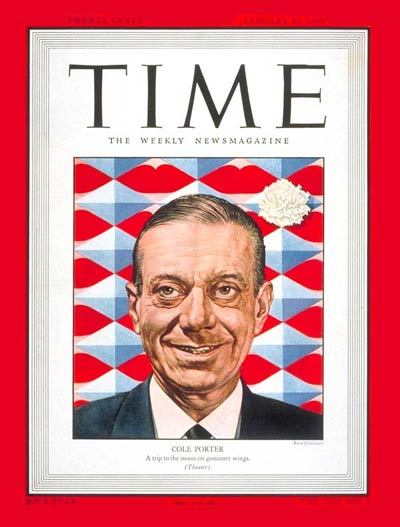 TIME Magazine Cover: Cole Porter -- Jan. 31, 1949
