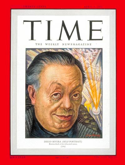 TIME Magazine Cover: Diego Rivera -- Apr. 4, 1949