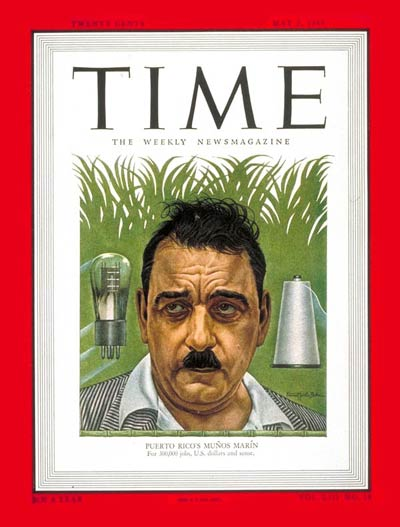 TIME Magazine Cover: Luis Munoz Marin -- May 2, 1949
