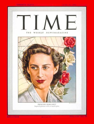 TIME Magazine Cover: Princess Margaret -- June 13, 1949