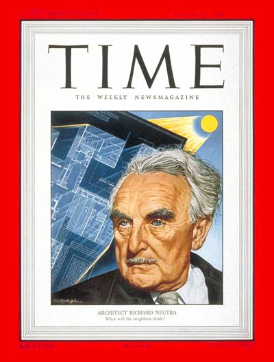 TIME Magazine Cover: Richard J. Neutra -- Aug. 15, 1949