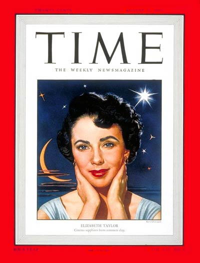 TIME Magazine Cover: Elizabeth Taylor -- Aug. 22, 1949